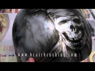 ▶ Airbrushed Pirates of the Caribbean Helmet - Airbrush Videos