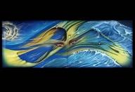 cuadro diptico por nixa arte y aerografia, www.facebook.com/pages/nixa-arte-y-aerografia/222640651124798?ref=hl - Airbrush Artwoks