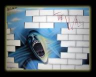 The Wall, mural aerografiado por nixa arte y aerografia, www.facebook.com/pages/nixa-arte-y-aerografia/222640651124798?ref=hl - Airbrush Murales