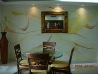 pared decorativa en efecto marmoleado aerografia por nixa arte y aerografia, www.facebook.com/pages/nixa-arte-y-aerografia/222640651124798?ref=hl - Airbrush Artwoks