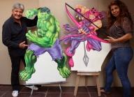 imagenes en MDF aerografiadas por nixa arte y aerografia, www.facebook.com/pages/nixa-arte-y-aerografia/222640651124798?ref=hl - Airbrush Artwoks