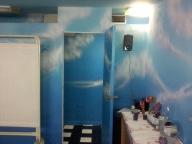 spa aerografiado efecto cielo, por nixa arte y aerografia, www.facebook.com/pages/nixa-arte-y-aerografia/222640651124798?ref=hl - Airbrush Murales