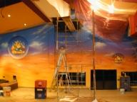 mural aerografiado para pub, discoteque, por nixa arte y aerografia, www.facebook.com/pages/nixa-arte-y-aerografia/222640651124798?ref=hl - Airbrush Murales