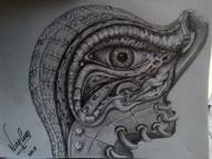 trabajo en grafito, 2B al 7B por nixa arte y aerografia, www.facebook.com/pages/nixa-arte-y-aerografia/222640651124798?fref=ts - Airbrush Artwoks