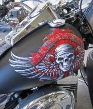 Harley Tank - Airbrush Artwoks