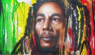 Bob Marley : One Life Unfinished on Behance by Tim Miklos of iPaint Airbrush Studio  2013 Acrylic on drywall - My Paintings