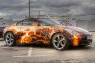 nissan 350Z - Tuning Cars Airbrush