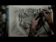 ▶ Airbrushing A Tiger-Fur Tutorial - Airbrush Videos
