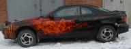 toyota celica true fire  - Kustom Airbrush