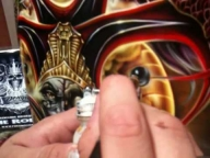 How to airbrush objects to look like glass. By Jaime Rodriguez - YouTube - Airbrush Videos