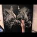 ▶ Striped Hyenas - Airbrushing - Super!