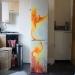 Phoenix on the refrigerator by LukeSobczakAirbrush