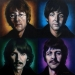 The Beatles Painting by Tim Scoggins