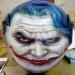 Custom Painted Joker from Batman Helmet