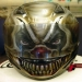 Custom Painted Evil Clown Helmet