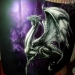 AIRBRUSH PAINTING - DRAGON ON BONNET - STEP BY STEP by il mitico DM Aerografie