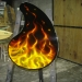 REAL TRUE FIRE COFFEE TABLE by FENO