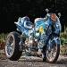 Wallpaper suzuki hayabusa, tuning, airbrush, suzuki, sport bike
