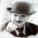 Chaplin ritratto (Aerografie, Dipinti)
