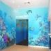 Mural painting in Sydney Aquarium entrance