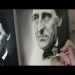 Airbrush Portrait of Ralph Waldo Emerson - YouTube