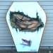 "Kids Coffin Lid of ""Chucky""    ( coffee table)"