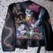 Alice cooper airbrushed leather jacket by Danielle-Vergne