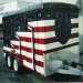 Airbrush kustom - Flag trailer