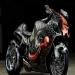 Design Hand Airbrush Skull Sportbike