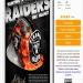 "Airbrush Stencil step - ""Raiders Helmet"" FREE DOWNLOAD"