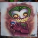 joker-airbrush-t shirt by OKAMIAIRBRUSH