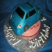 3-D Car cake by Wolfbay Cafe