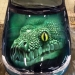 car, airbrushing, painting, hood, images, green, snake