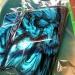 Motorbike Airbrush kustom - skull