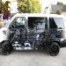 Custom airbrush on Van