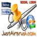 NEW! Da oggi potete REGISTRARVI o ACCEDERE a JustAirbrush.com in pochi secondi con i vostri account di Facebook & Twitter!