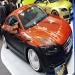 Street Racing Car Modified: Custom Audi TT Racing in Orange And Matte Black With Grey Metallic Flame Airbrush