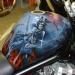Airbrush Artwork on Suzuki Bandit