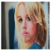 blonde girl portrait, cm.40x60 on schoeller