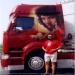 Airbrush kustom on truck