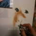 Airbrush freehand portrait - step by step