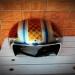Custom helmet.