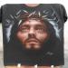 Jesus of nazareth (Robert Powell) Airbrush on black T-shirt | Castellaro Airbrush