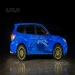 airbrush on the Subaru Forester Ts
