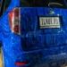 """аэрография на автомобиле Subaru Forester Ts  """"Синие крокодилы""""  Создана в Москве в студии  ILNUR.RU"""
