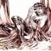 FAN ART - Ink and airbrush on paper - My Art - La TUA Arte nella Rete