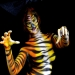 Bodypainting Tiger