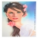 airbrush portrait on schoeller. cm.40x60