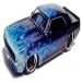 Blue Real Flame BTM 69 Camaro - KB Kustoms, -Airbrushed Diecast Collectibles!