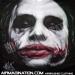 Airbrush Joker Scars Shirt   Dark Knight Airbrushed T-Shirt